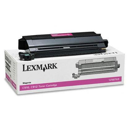 Lexmark 12N0769 Original Magenta Toner Cartridge