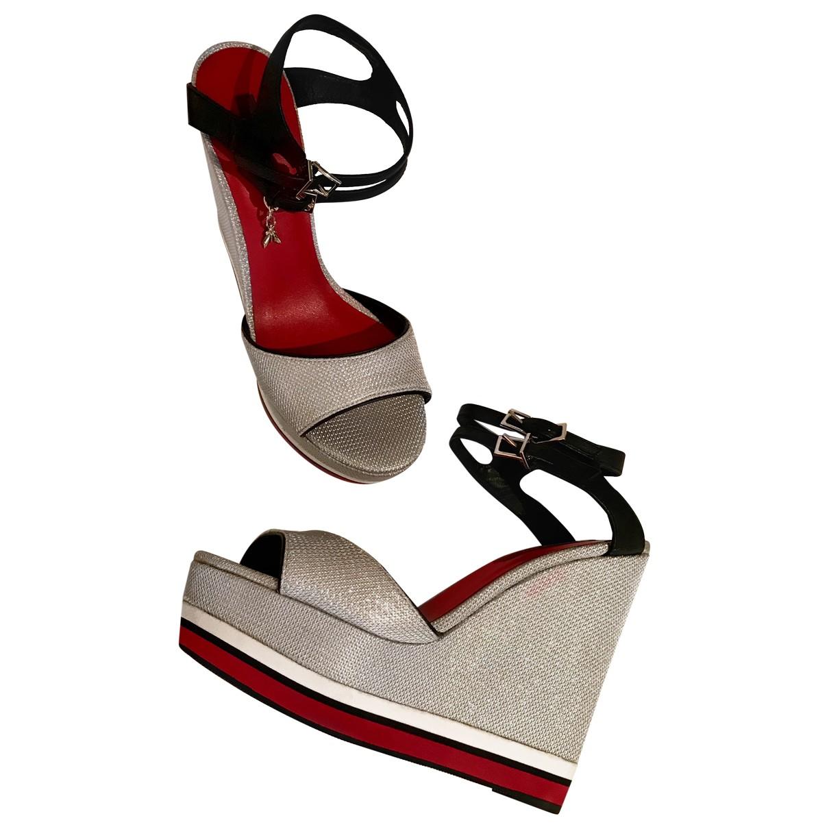 Patrizia Pepe \N Multicolour Cloth Sandals for Women 39 EU