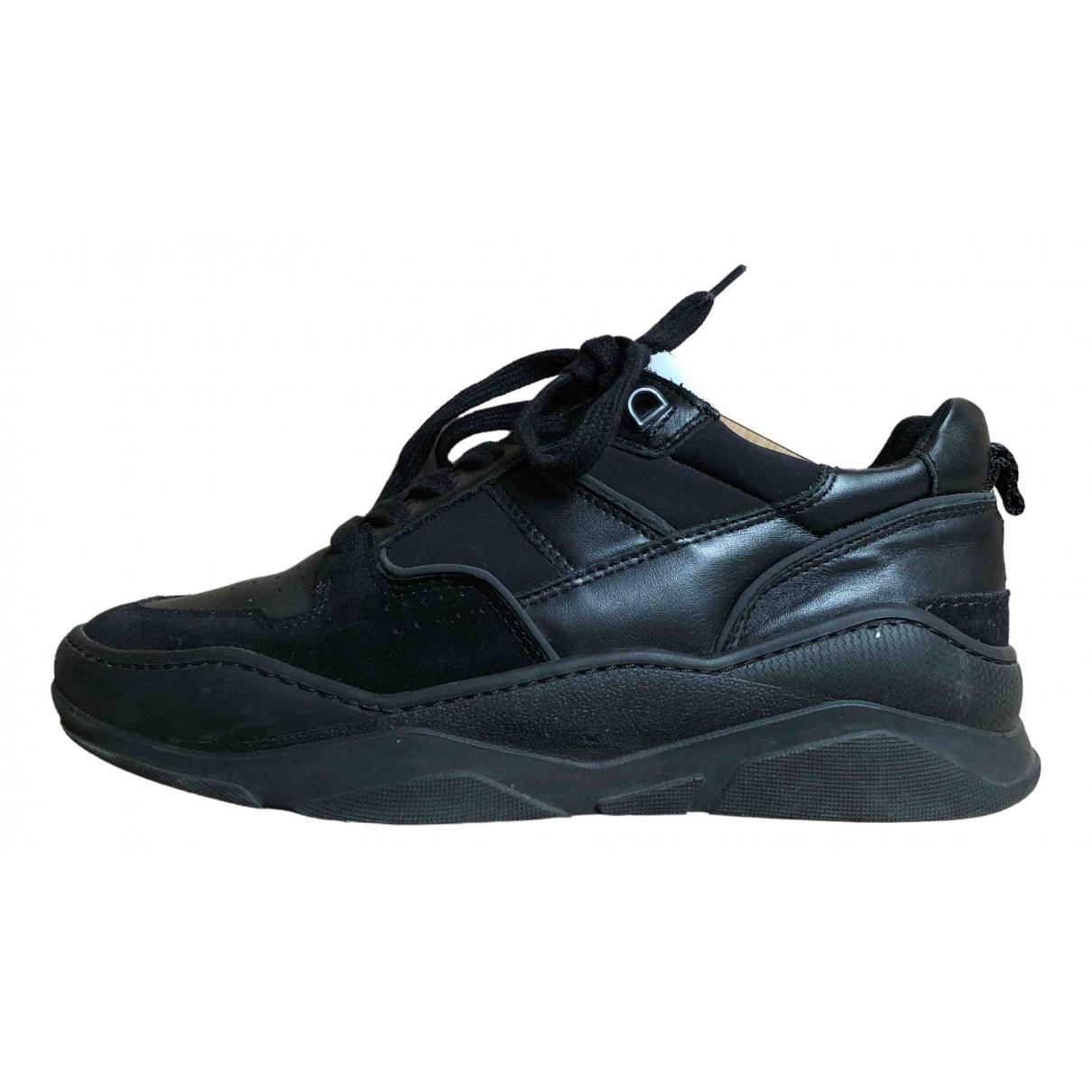 Ami - Baskets   pour homme en cuir - noir