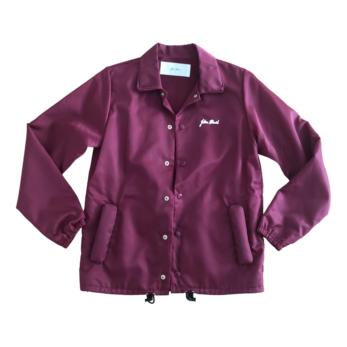 Julien David \N Burgundy jacket for Women S International