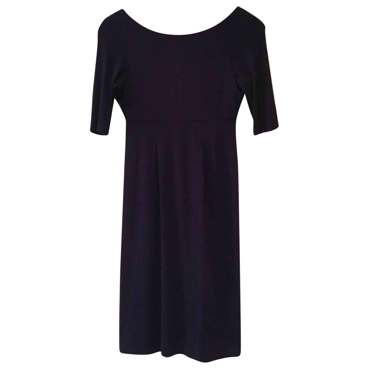 Lk Bennett \N Kleid in  Lila Baumwolle - Elasthan