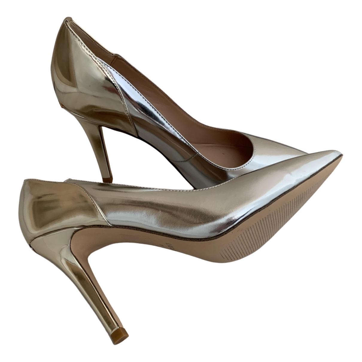 Liu.jo - Escarpins   pour femme en cuir verni - metallise