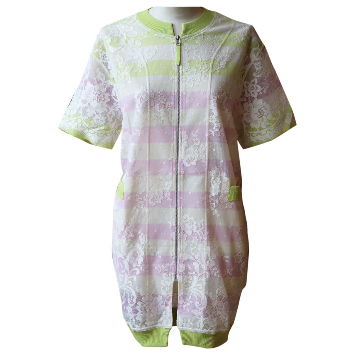 Ermanno Scervino - Veste   pour femme en coton - multicolore