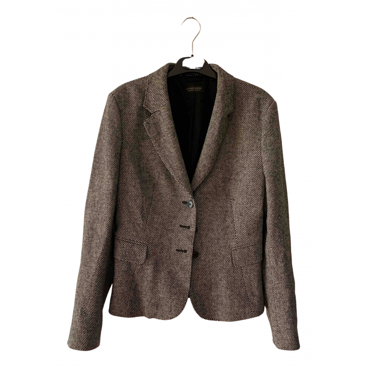Strenesse - Veste   pour femme en laine - noir