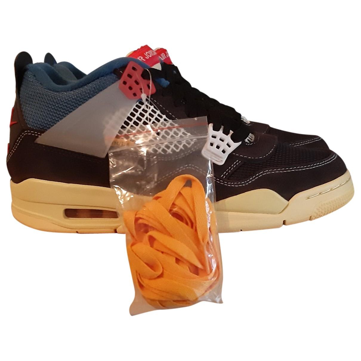 Jordan Air Jordan 4 Sneakers in  Beige Leder