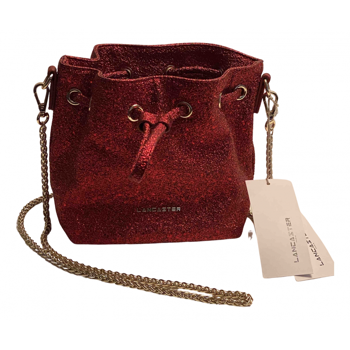 Lancaster \N Clutch in  Rot Synthetik