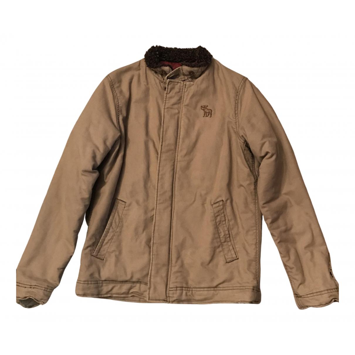 Abercrombie & Fitch - Vestes.Blousons   pour homme en coton - beige