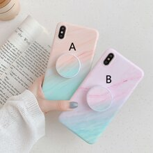 1pc Ombre Foldable Phone Finger Ring