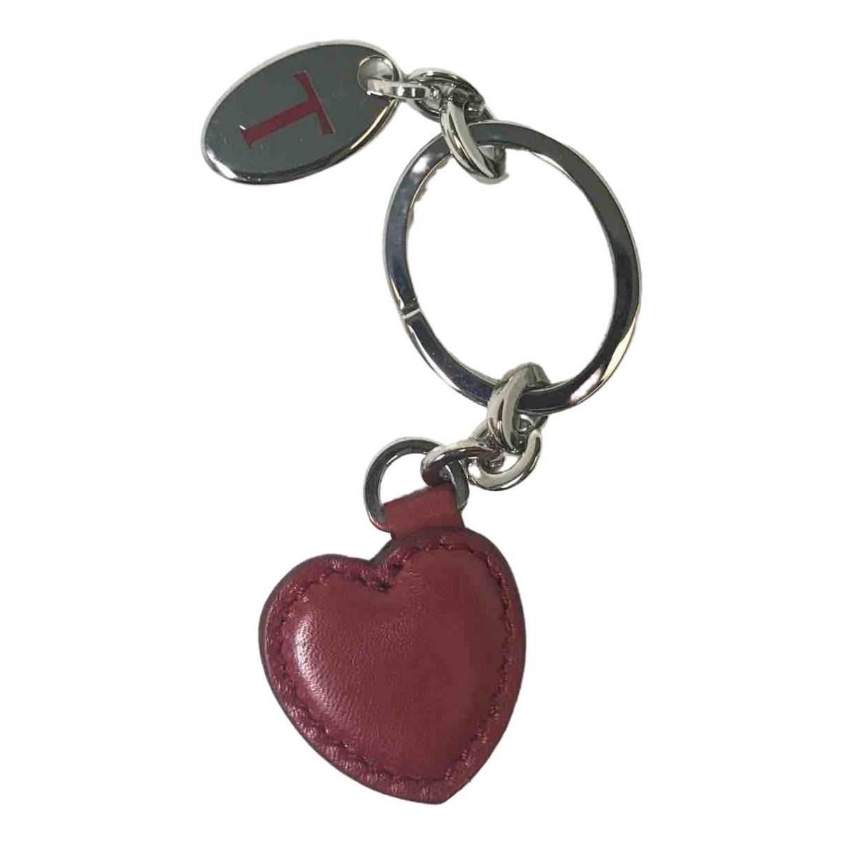 Tods - Petite maroquinerie   pour femme en cuir - rouge