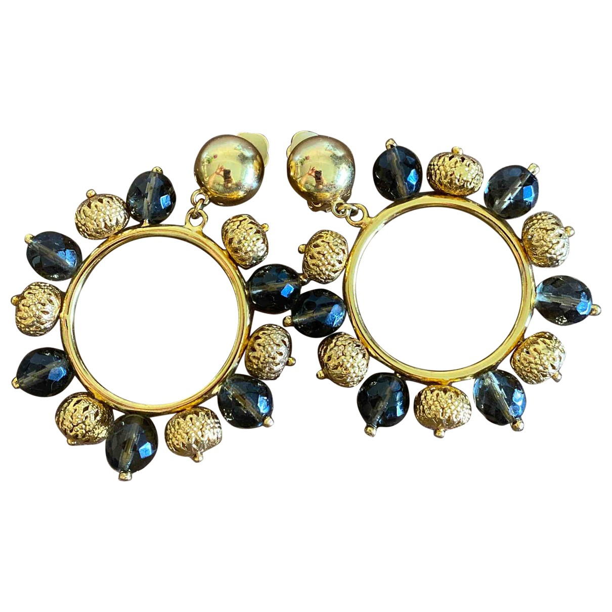 Dolce & Gabbana \N OhrRing in  Gold Gold und Stahl