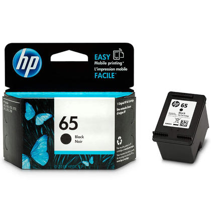 HP 65 N9K02AN Original Black Ink Cartridge