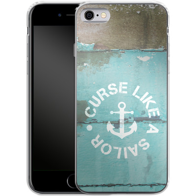 Apple iPhone 6 Silikon Handyhuelle - Curse Like A Sailor von Statements