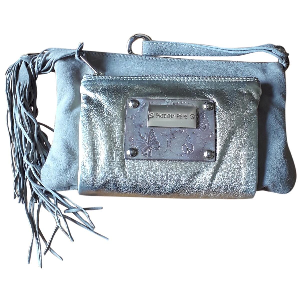 Patrizia Pepe \N Beige Suede Clutch bag for Women \N