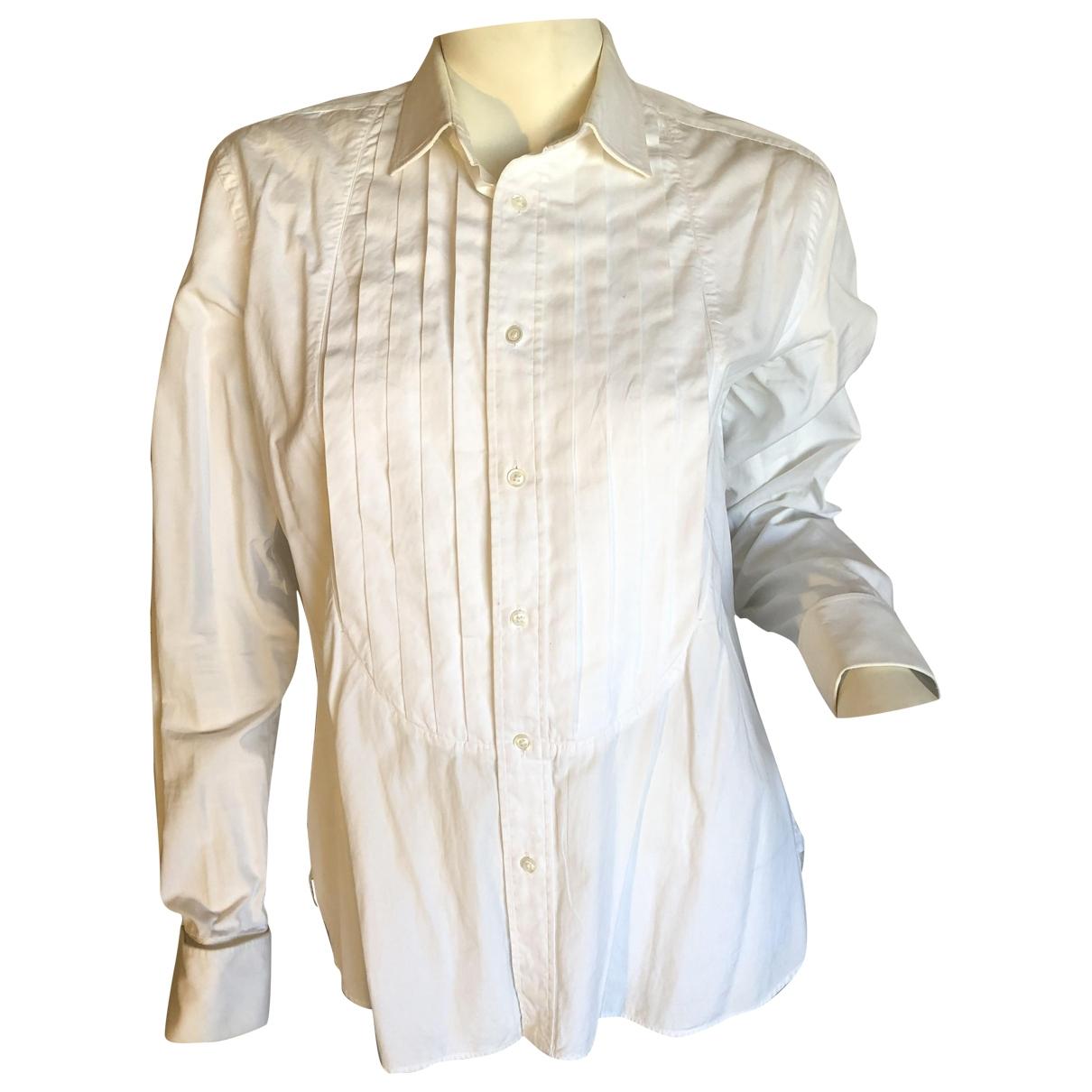 Ralph Lauren \N White Cotton  top for Women 32 FR