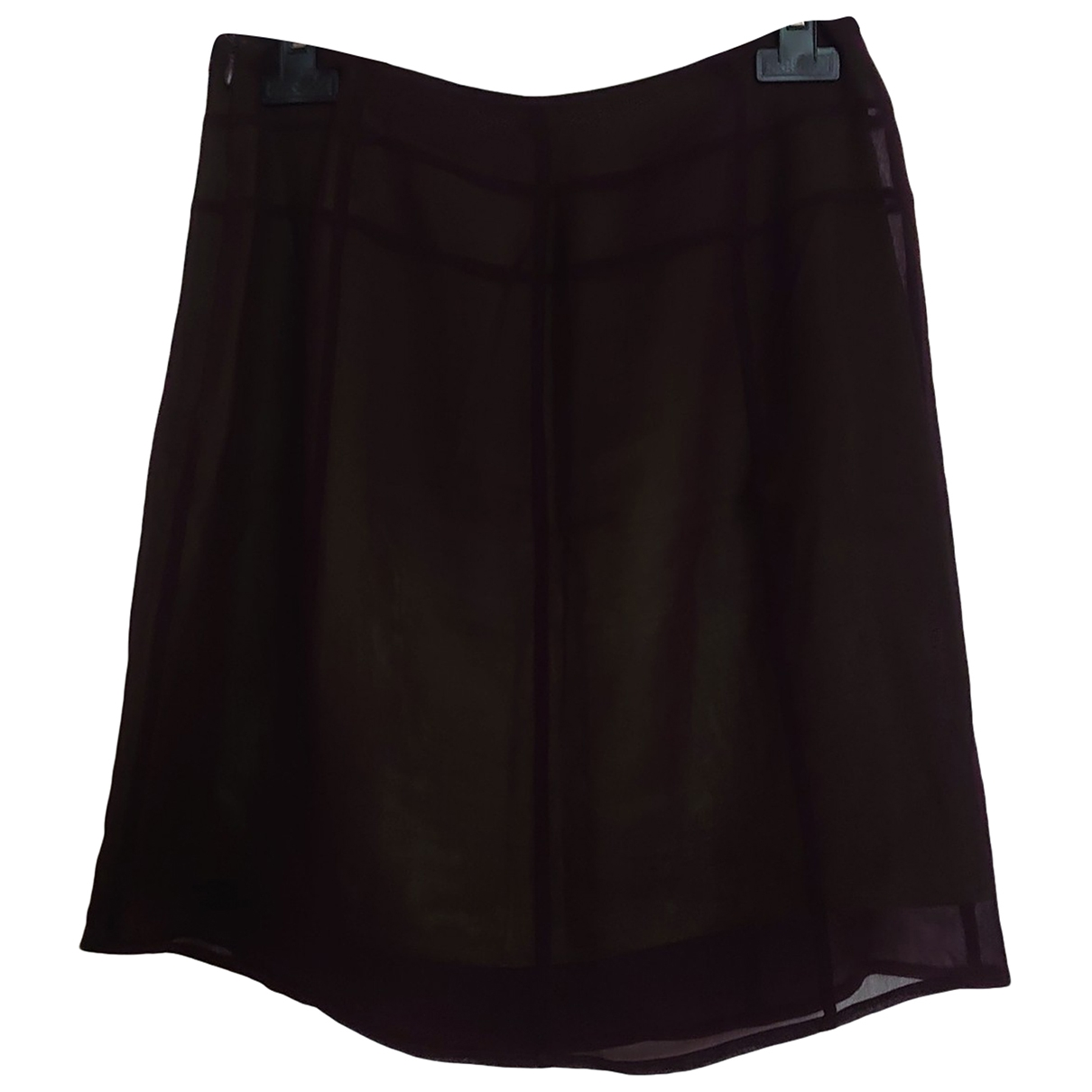 Zapa \N Purple Silk skirt for Women 38 FR