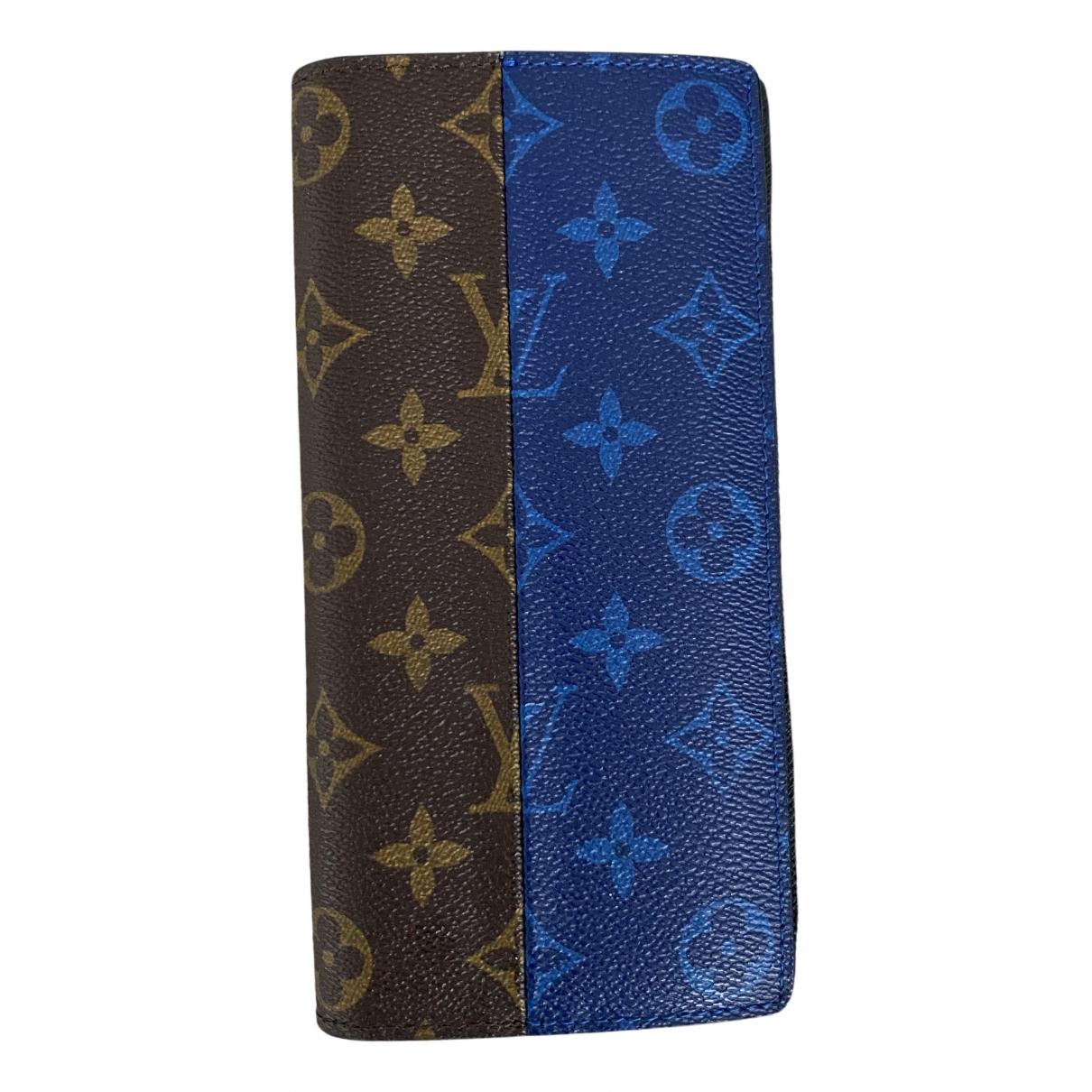 Louis Vuitton - Petite maroquinerie Brazza pour homme en toile - multicolore