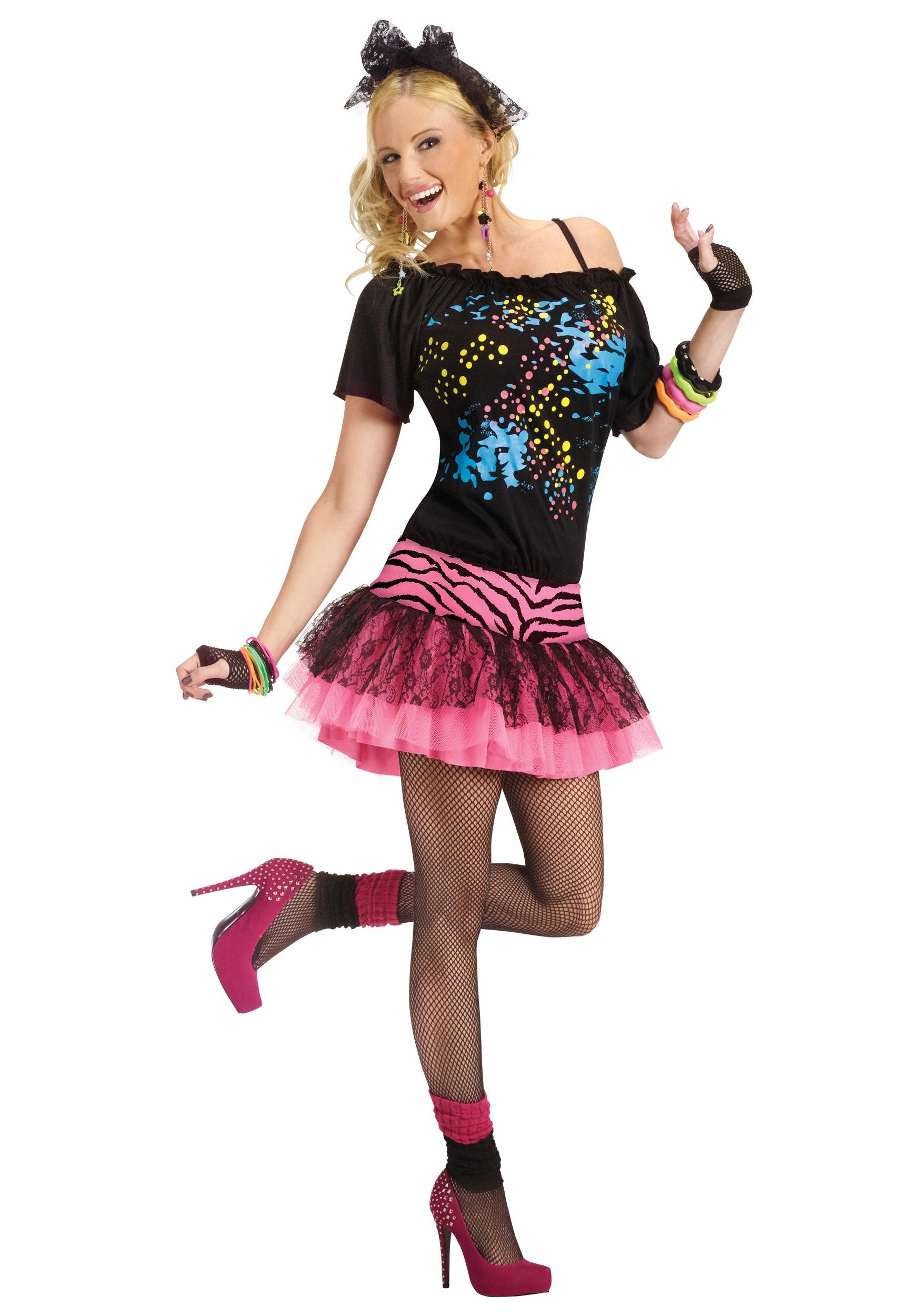 Pop Party 80s Women's Costume