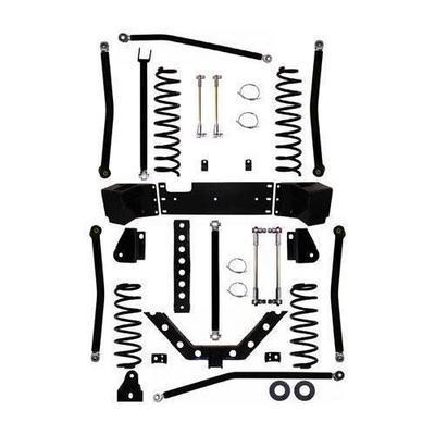 Rock Krawler 3.5 Inch X Factor Plus Long Arm Lift Kit - JK35XFLA-2