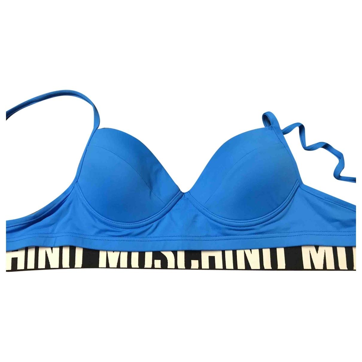 Moschino \N Badeanzug in  Blau Synthetik