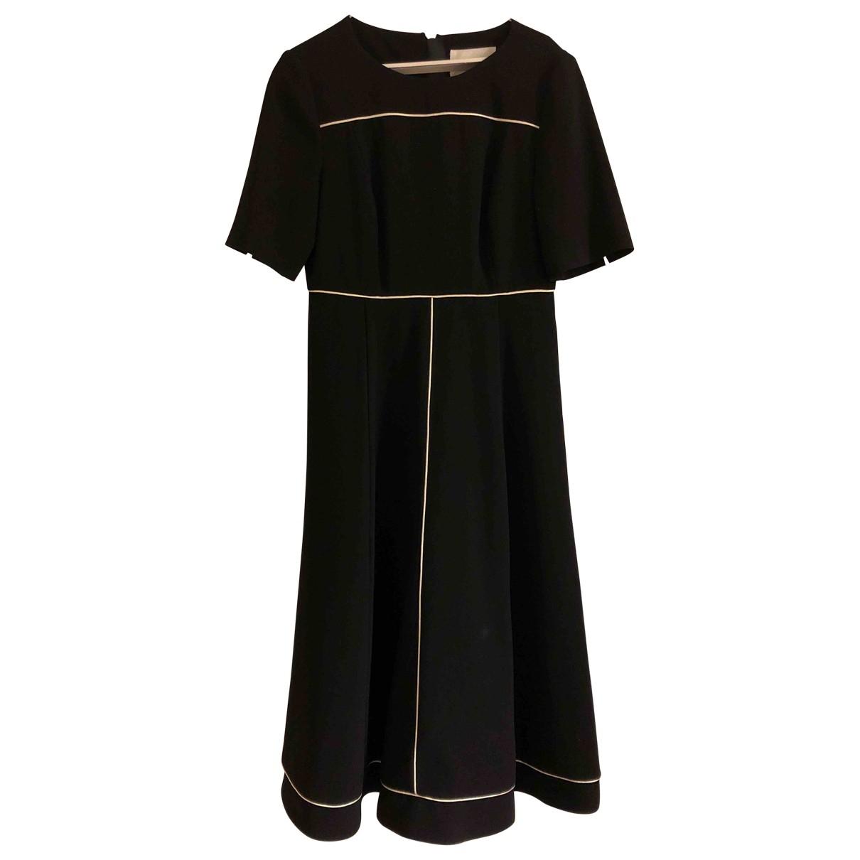 Lk Bennett \N Kleid in  Schwarz Polyester