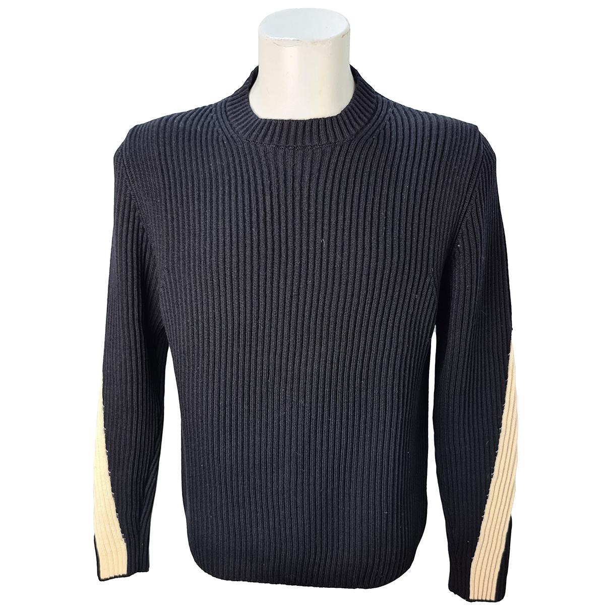 Stone Island \N Pullover.Westen.Sweatshirts  in  Schwarz Wolle