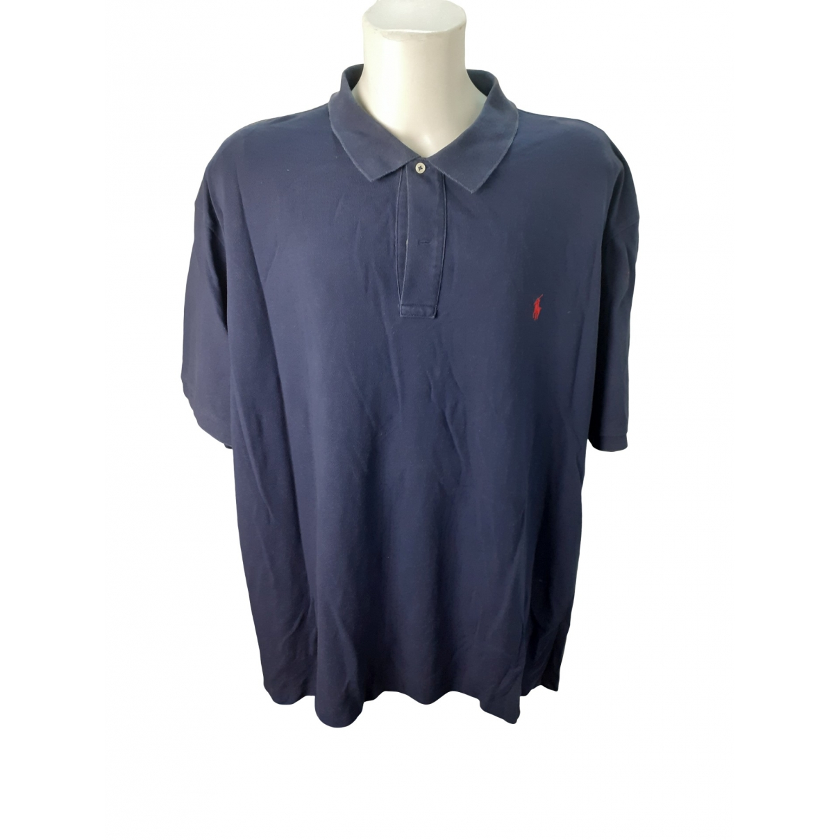 Polo Ralph Lauren \N Blue Cotton Polo shirts for Men XXXL International