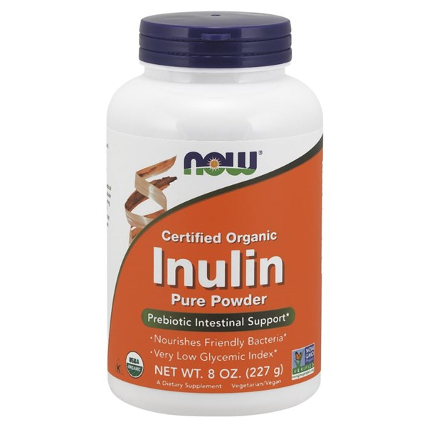 Inulin Powder Pure Fos 8 OZ by Now Foods