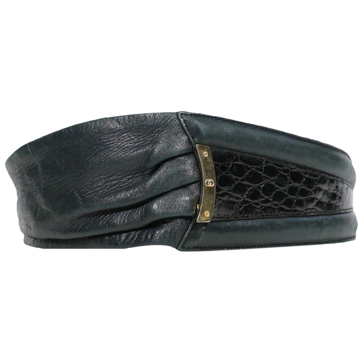 Gucci \N Blue Exotic leathers belt for Women 80 cm