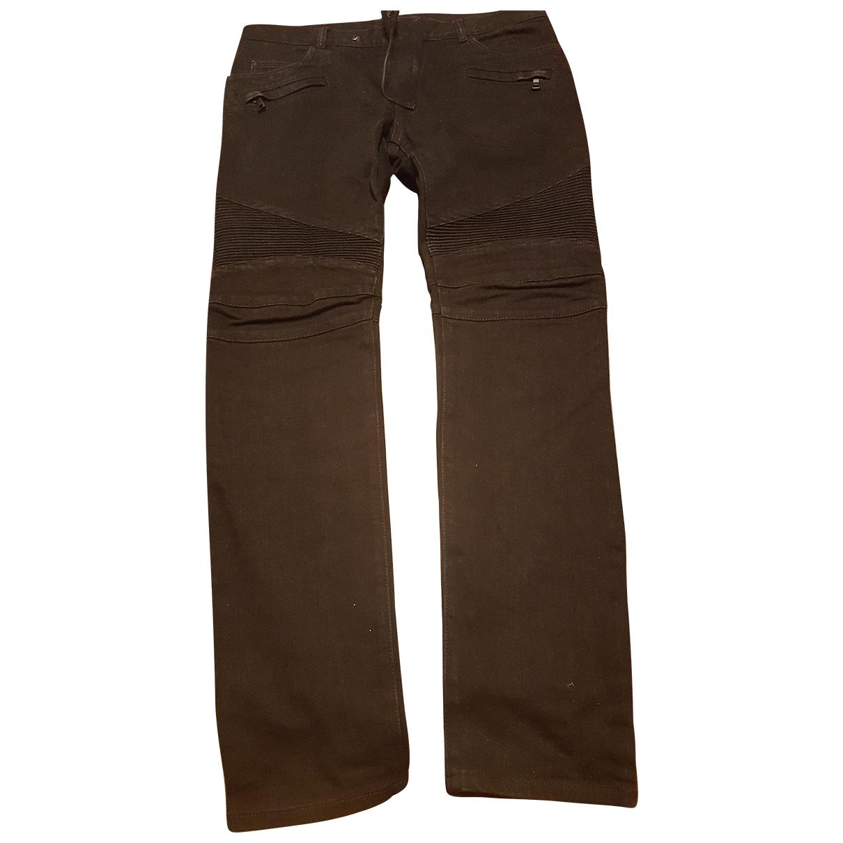 Balmain N Black Denim - Jeans Trousers for Men 34 UK - US