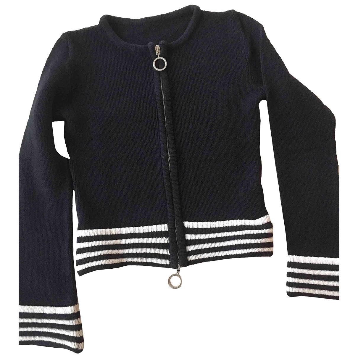 Max & Co \N Pullover in  Schwarz Baumwolle