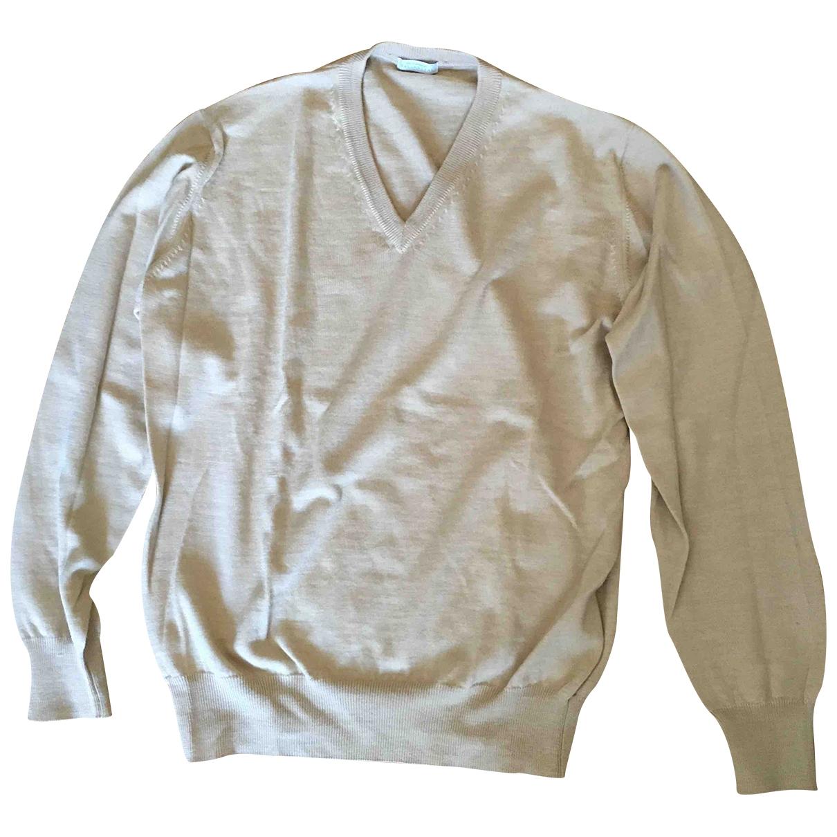 Ballantyne - Pull   pour femme en laine - beige