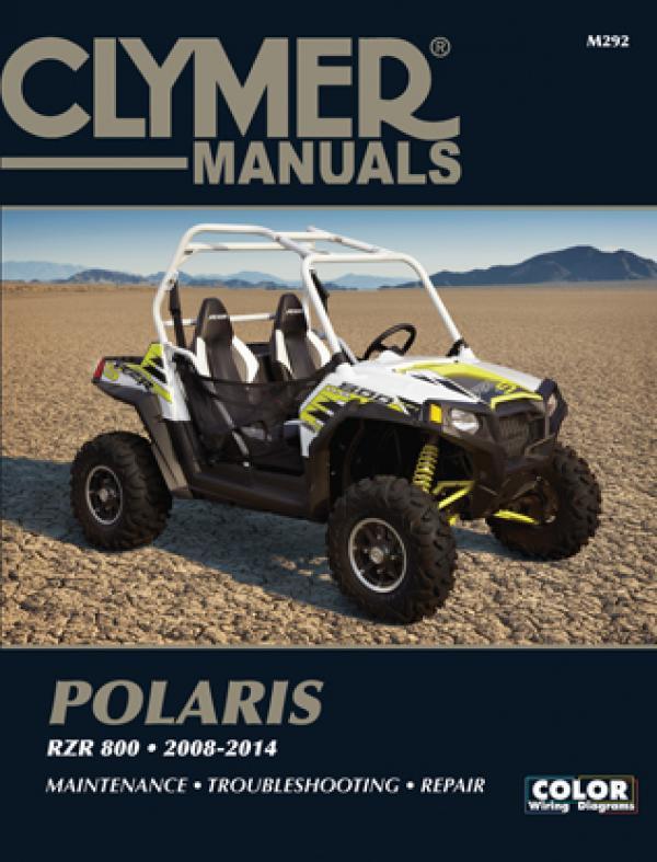 Polaris RZR 800 Side By Side ATV UTV (2008-2014) Service Repair Manual