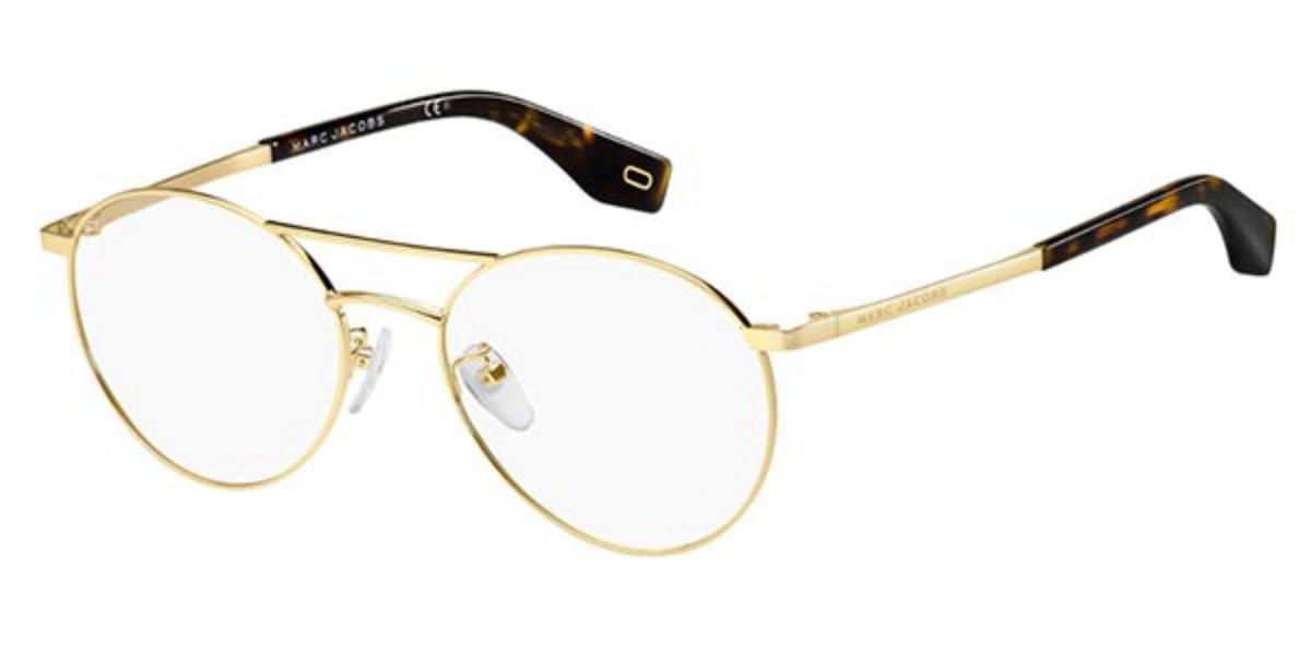 Marc Jacobs MARC 332/F Asian Fit 086 Women's Glasses Gold Size 53 - Free Lenses - HSA/FSA Insurance - Blue Light Block Available