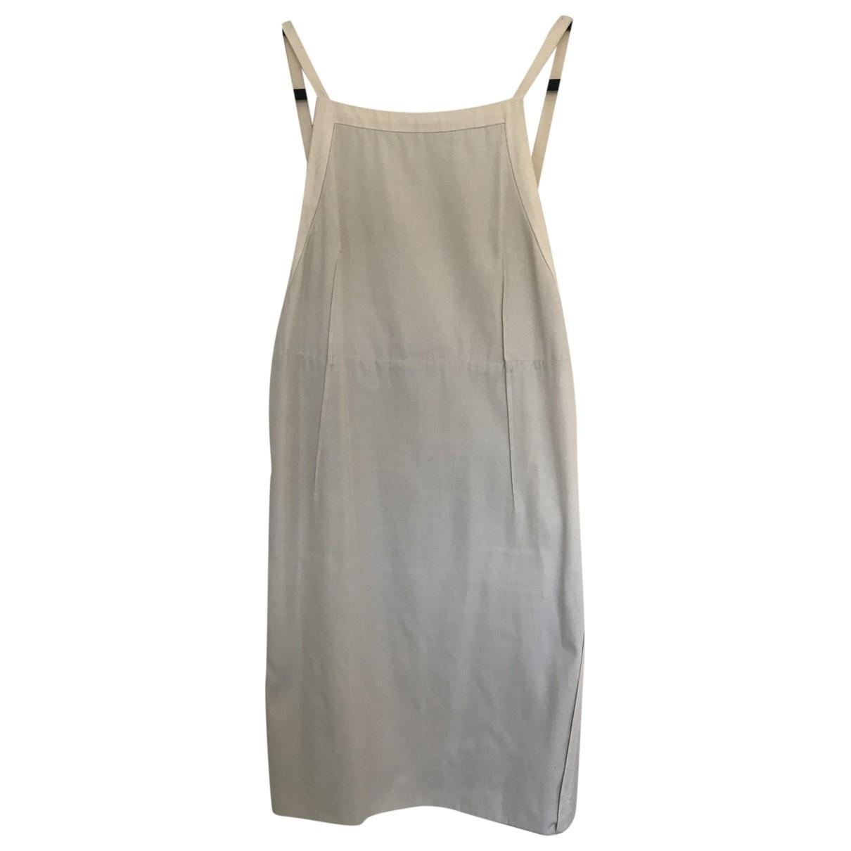 Chloe \N Kleid in  Weiss Baumwolle