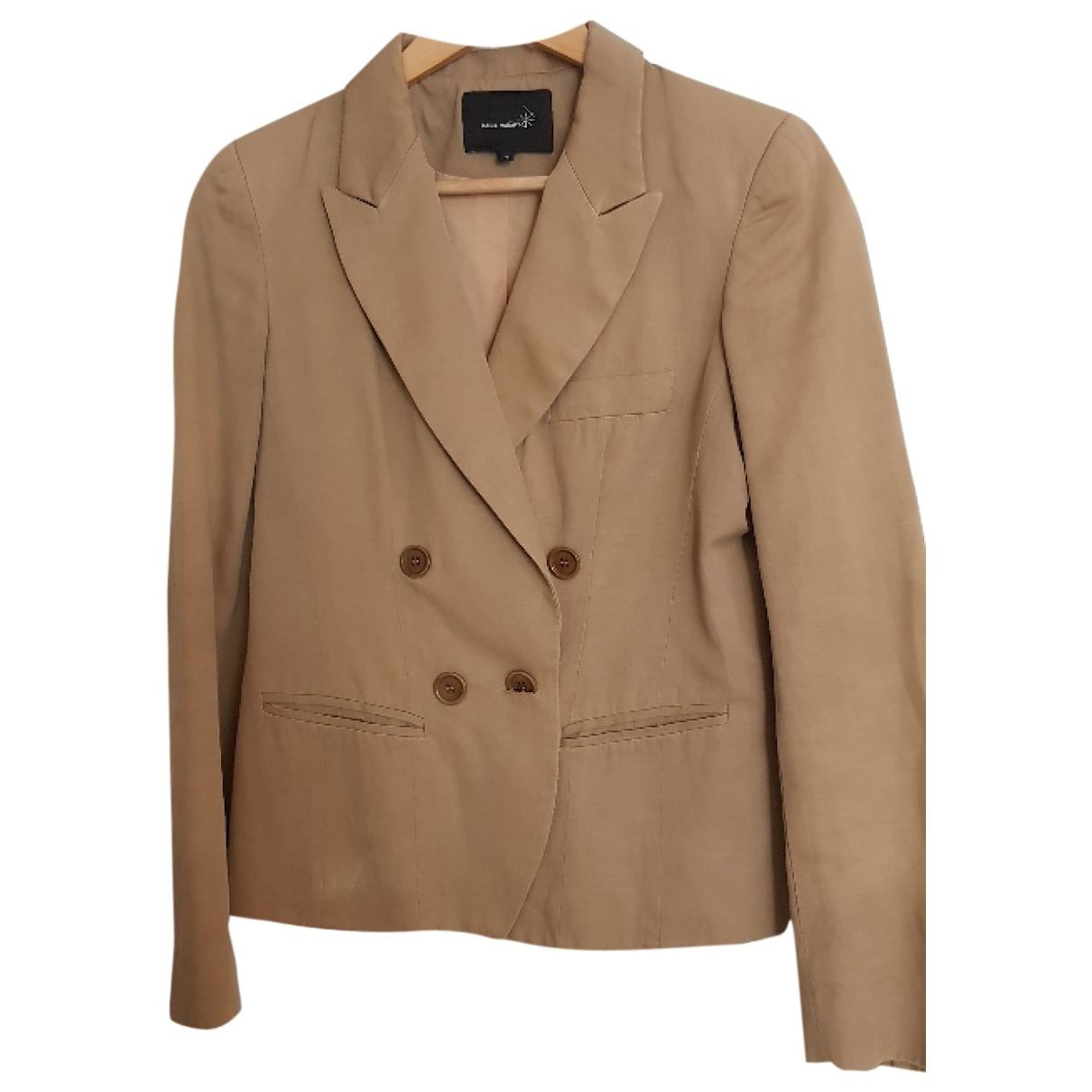 Isabel Marant \N Beige Cotton jacket for Women 1 0-5