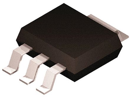 Taiwan Semiconductor TSC873CW RPG NPN Transistor, 1 A, 400 V, 3 + Tab-Pin SOT-223 (25)