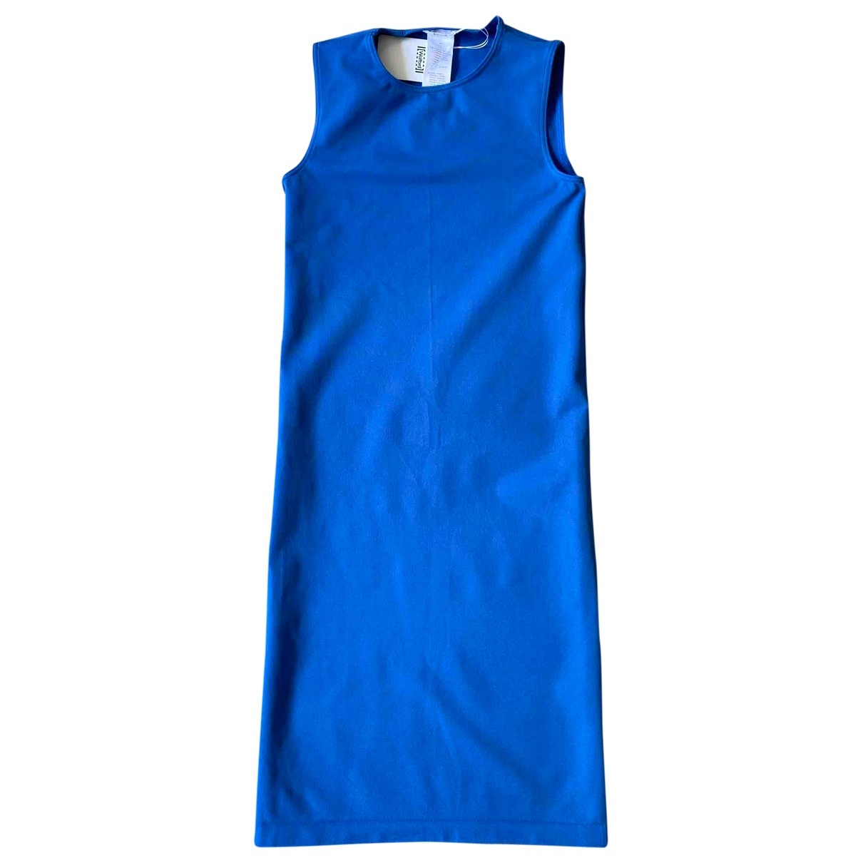 Wolford - Robe   pour femme - bleu