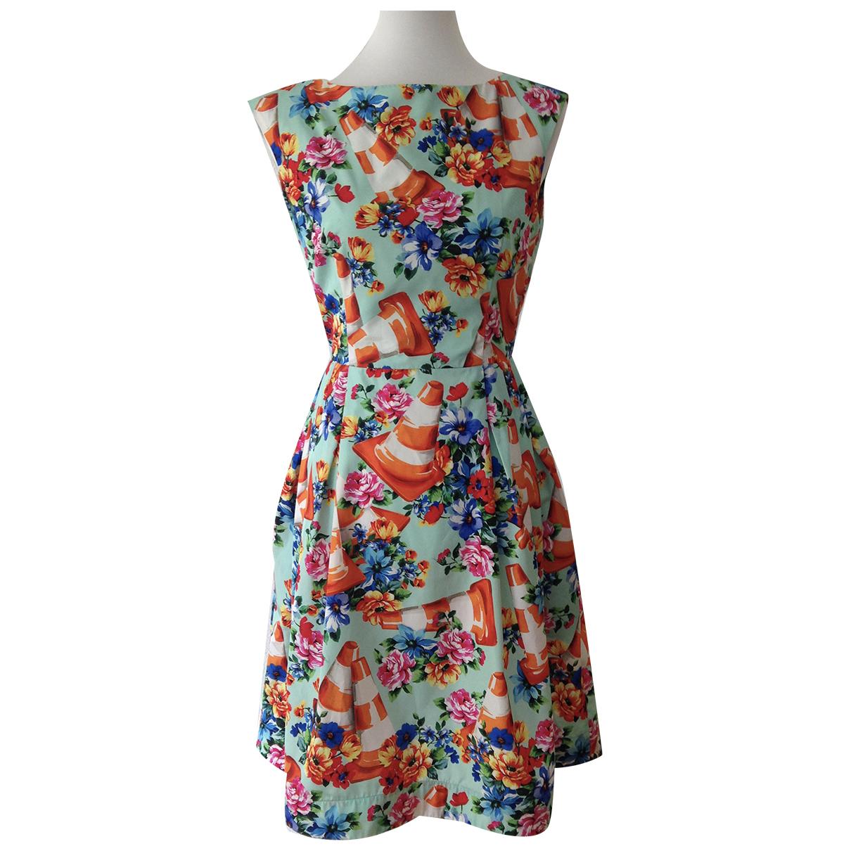 Moschino \N Kleid in  Bunt Viskose