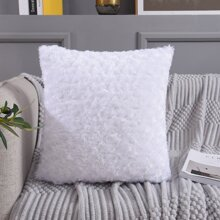 Plain Plush Cushion Cover Without Filler