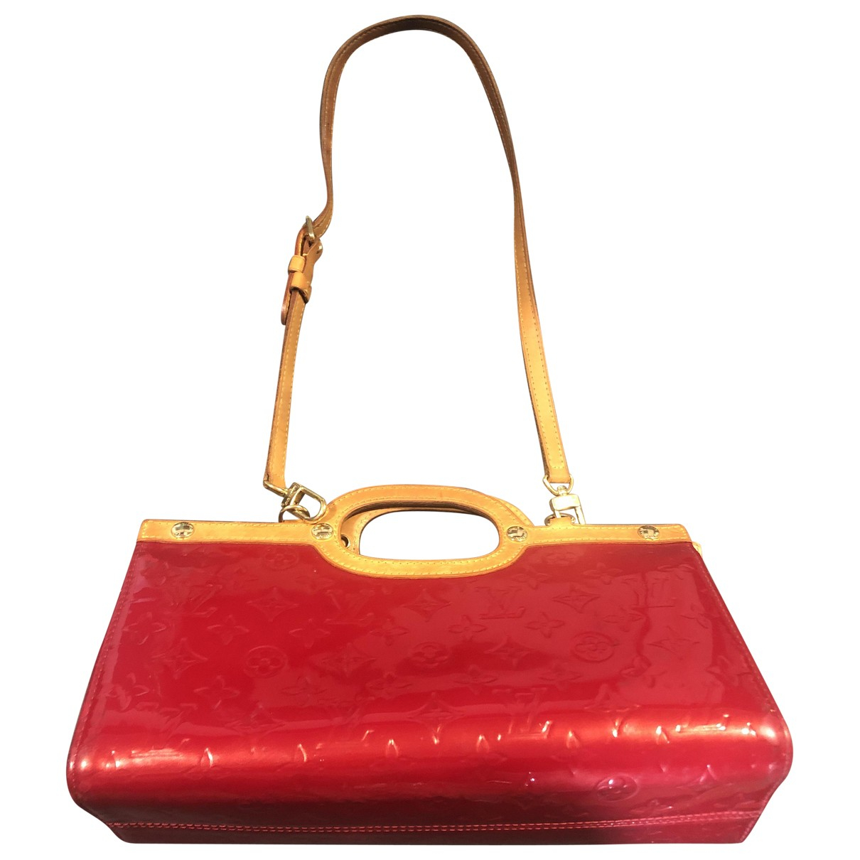Louis Vuitton Roxbury Red Patent leather handbag for Women N