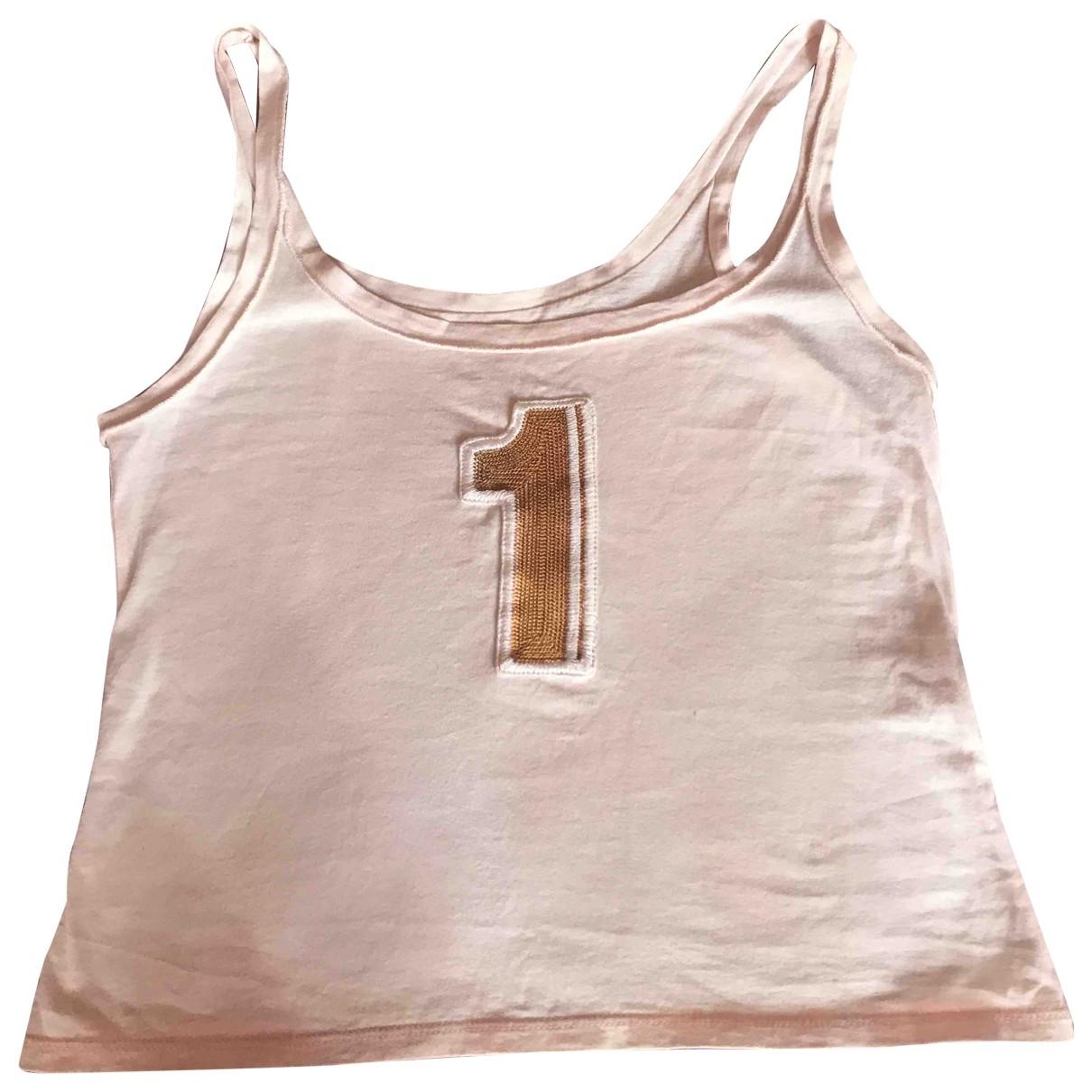 Paul Smith - Top   pour femme en coton - ecru