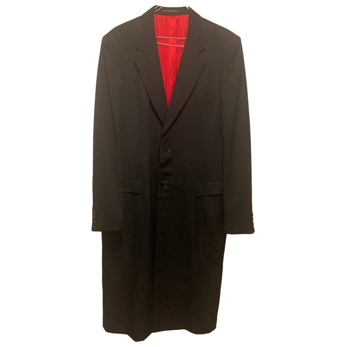 Ys - Manteau   pour homme en laine - bleu