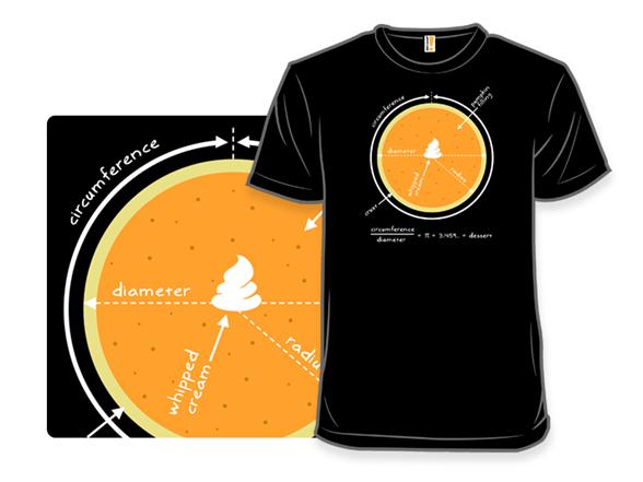Math + Pumpkin = Pi T Shirt