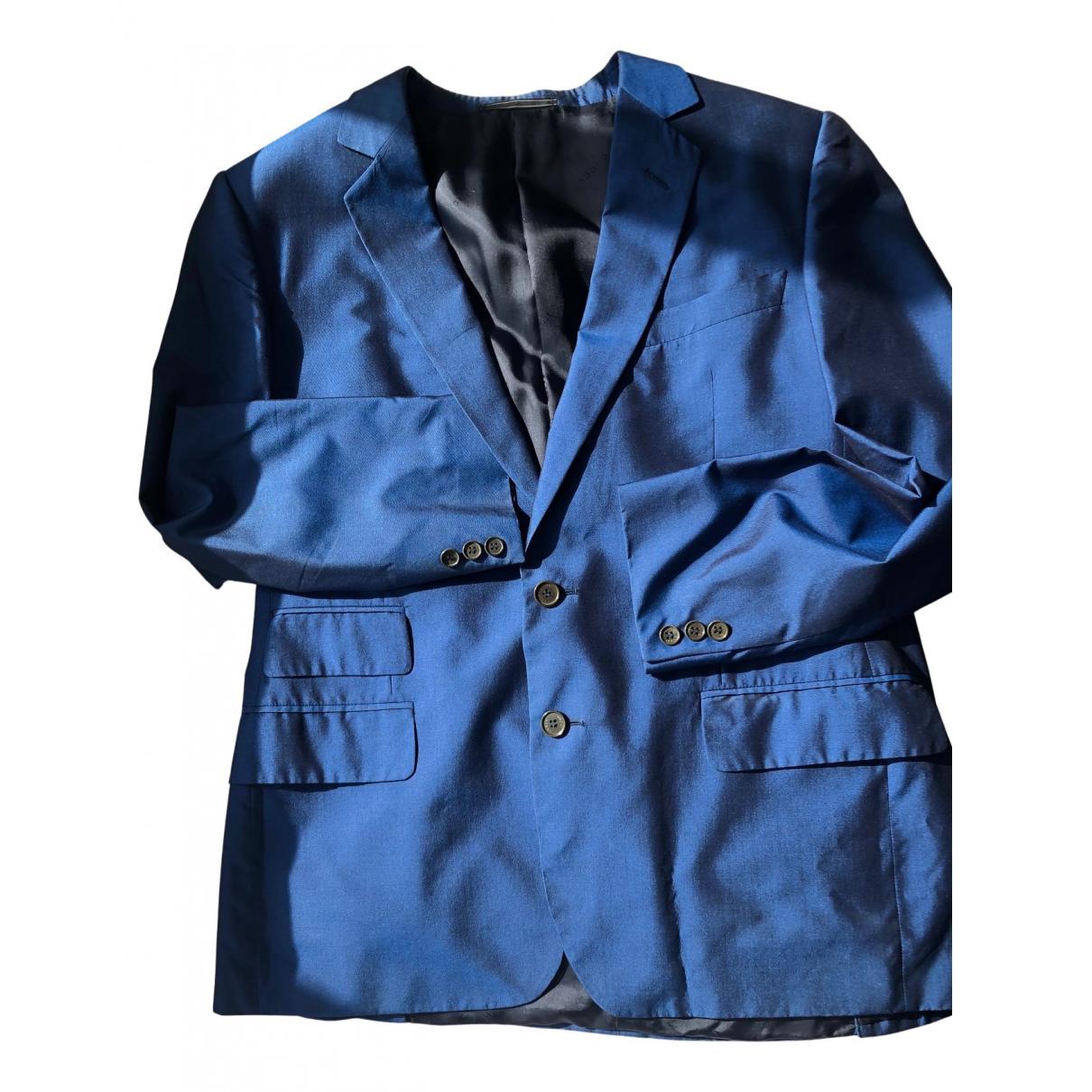 Gucci - Vestes.Blousons   pour homme en soie - bleu