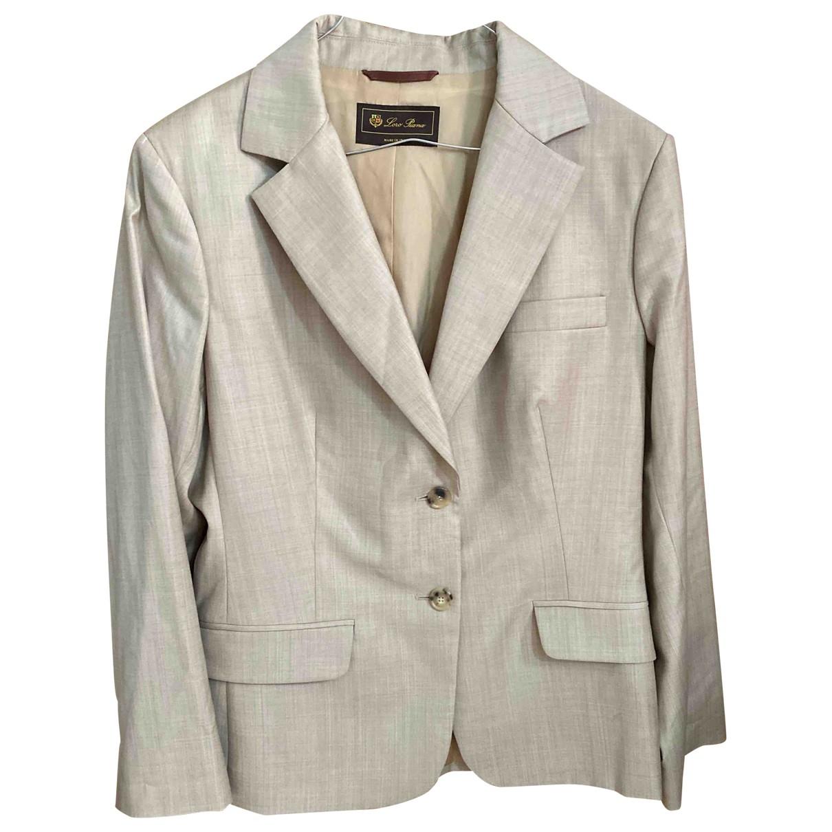 Loro Piana \N Wool jacket for Women 50-52 IT