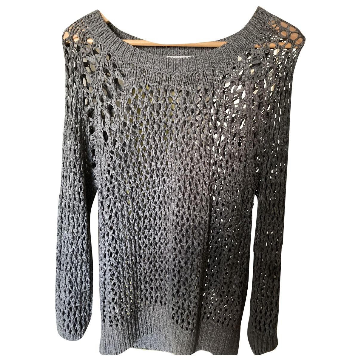 Sandro \N Pullover in  Grau Polyester