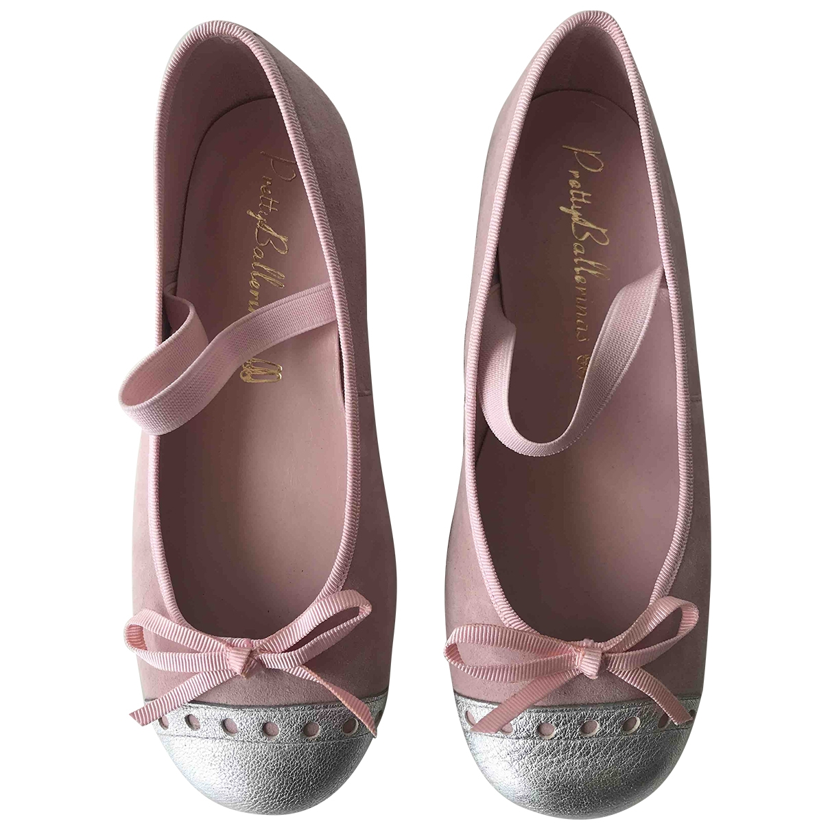 Pretty Ballerinas - Ballerines   pour enfant en suede - rose