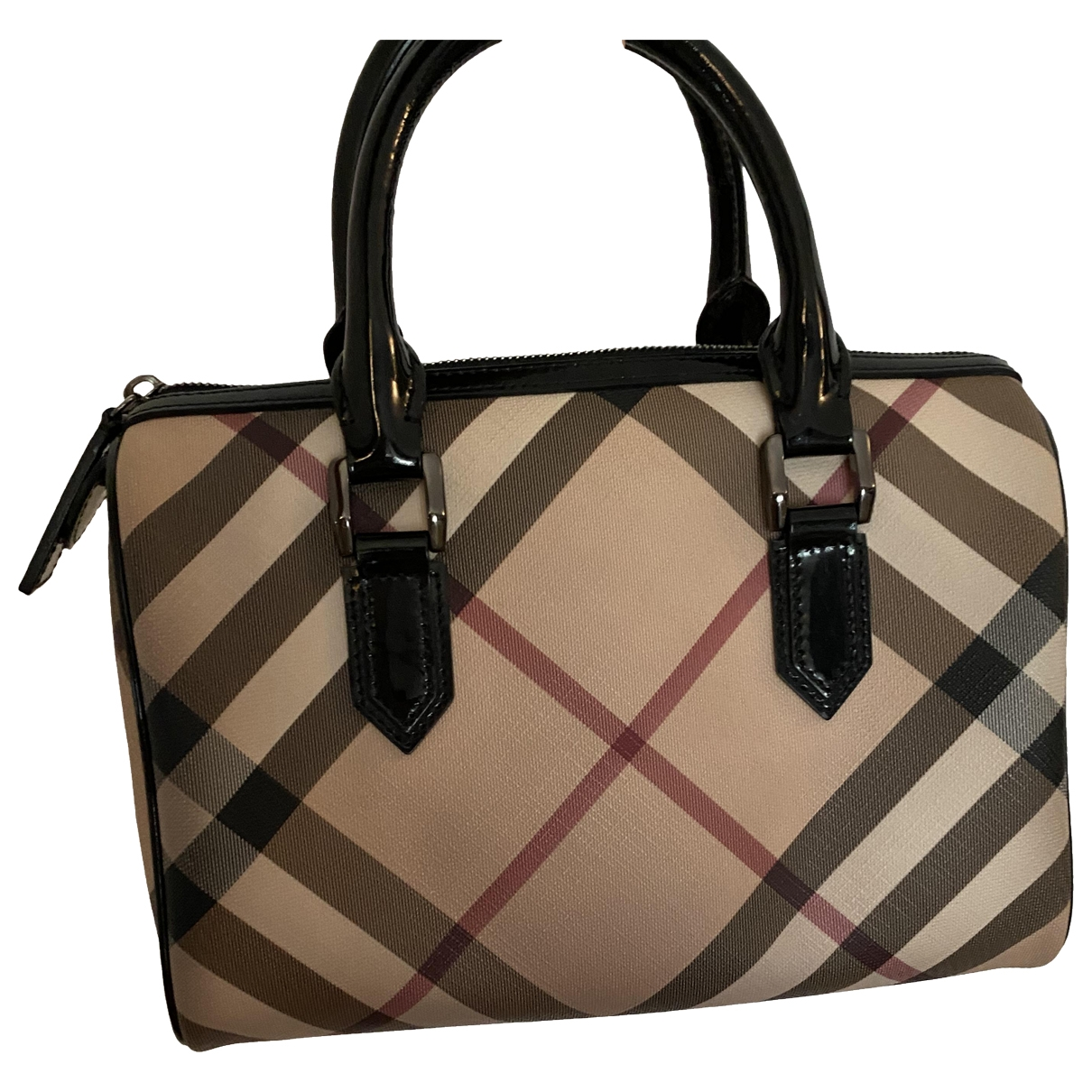 Burberry \N Beige Cloth handbag for Women \N