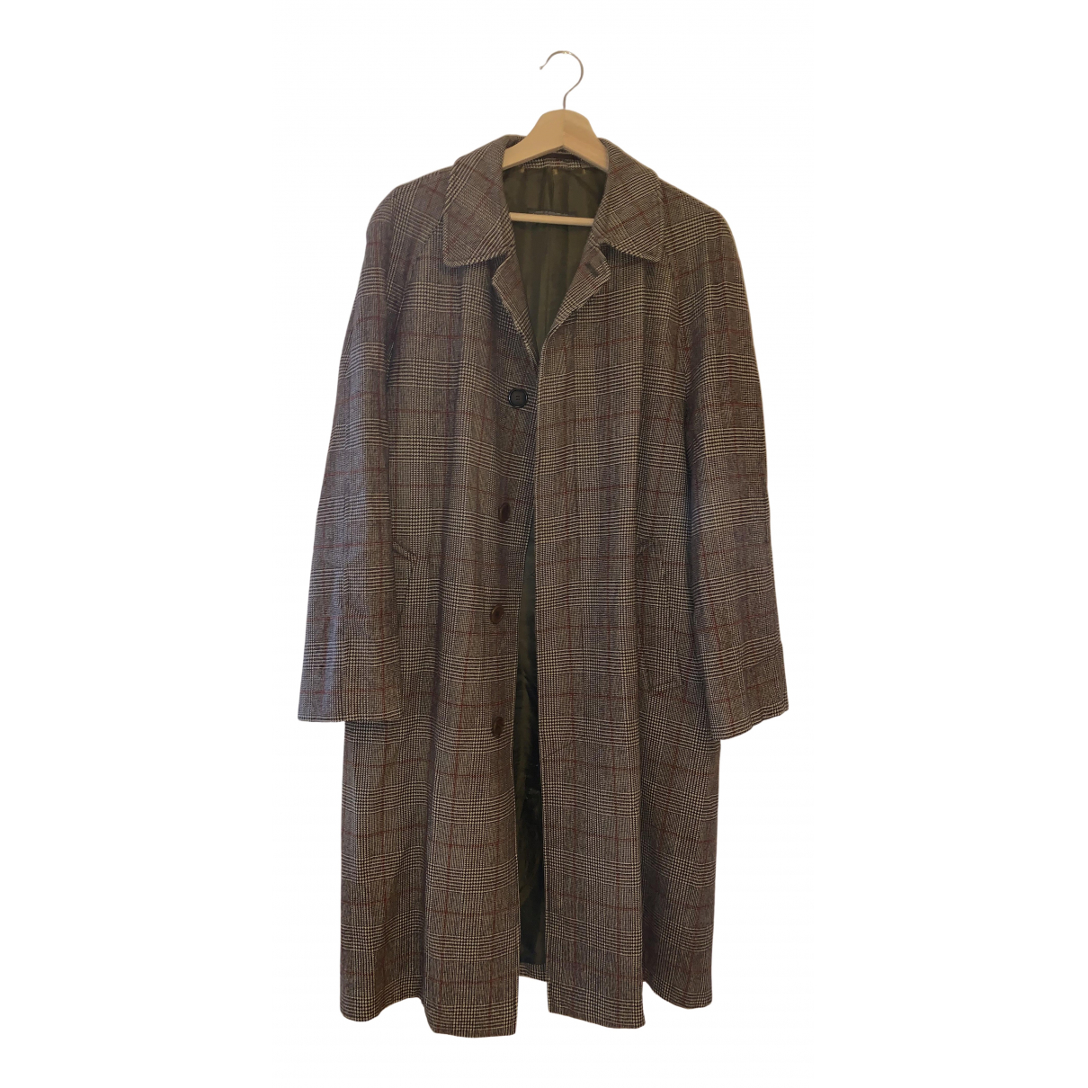 Brooks Brothers - Manteau   pour homme en laine - marron