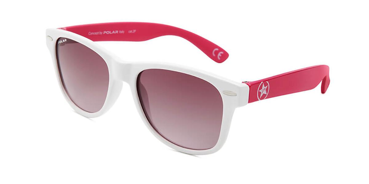 Polar PL 534 Kids Polarized 10 Kids' Sunglasses White Size 47